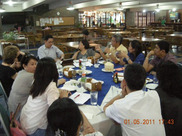 PRB Board meeting at Valle Verde Clubhouse, Pasig