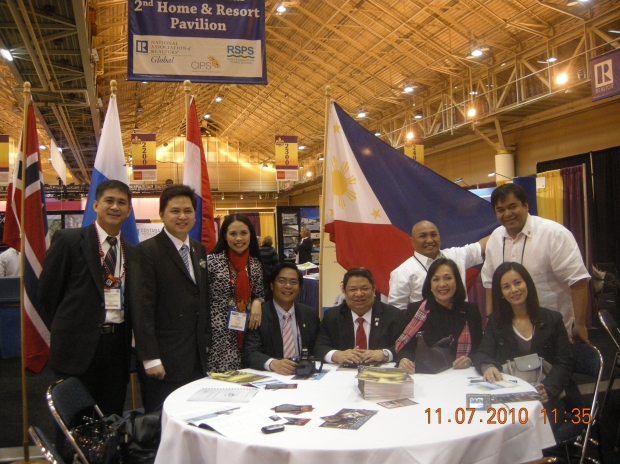 Philippine Delegates for the National Association of Realtors Convention 2010